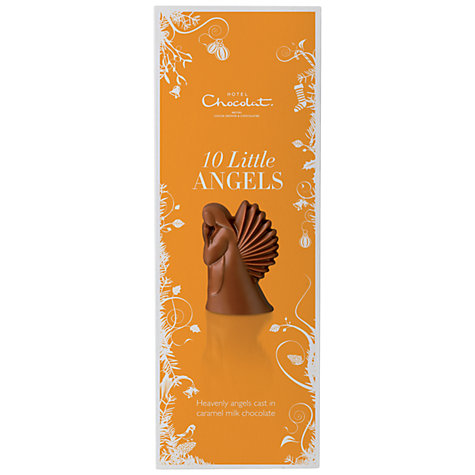 Buy Hotel Chocolat Caramel Milk Chocolate Little Angels, 110g Online at johnlewis.com