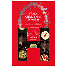 Buy Hotel Chocolat Christmas Classic H-Box, 150g Online at johnlewis.com