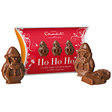 Buy Hotel Chocolat Milk Chocolate Santas, 30g Online at johnlewis.com
