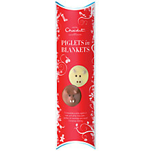 Buy Hotel Chocolat Piglets in Blankets Pralines, 70g Online at johnlewis.com