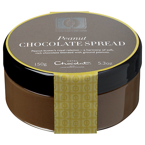 Buy Hotel Chocolat Cuisine Peanut Chocolate Spread, 150g Online at johnlewis.com