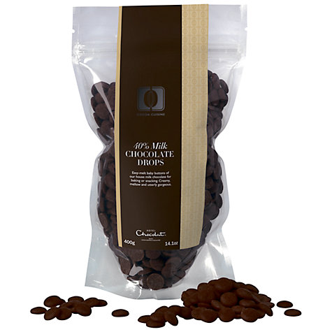 Buy Hotel Chocolat Cuisine 40% Milk Chocolate Buttons, 400g Online at johnlewis.com