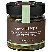 Buy Hotel Chocolat Cuisine Cocoa Pesto, 190g Online at johnlewis.com