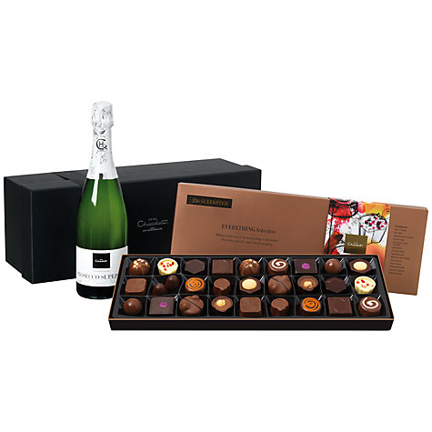Buy Hotel Chocolat The Chocolate & Prosecco Hamper Online at johnlewis.com