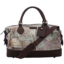 Buy Barbour Atlanta Map Print Explorer Bag, Multi Online at johnlewis.com