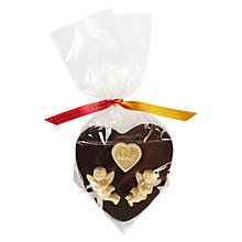 Buy Chococo Milk and Dark Chocolate Cherub Heart Online at johnlewis.com