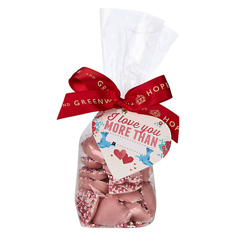 Buy Hope & Greenwood Speckled Sweethearts Candy Bag, 175g Online at johnlewis.com