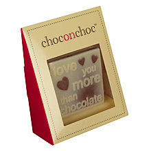Buy Choc on Choc Love You More Than Chocolate, 36g Online at johnlewis.com