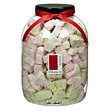 Buy Farhi Christmas Tree and Snowman Mallows, 1kg Online at johnlewis.com