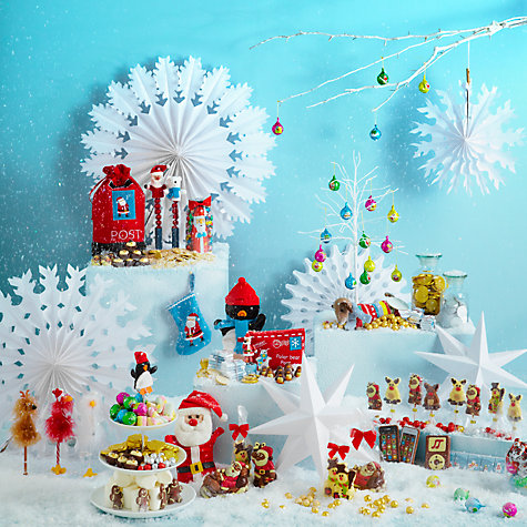 Buy Farhi Bag of Foiled Santas/Snowmen, 200g Online at johnlewis.com