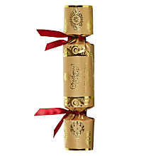 Buy Charbonnel et Walker Milk Chocolate Mini Cracker, Gold Online at johnlewis.com