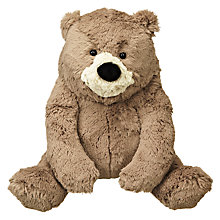 Buy John Lewis Bear & Hare Bear Plush Toy, Brown Online at johnlewis.com