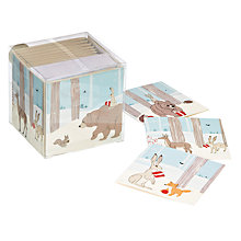 Buy John Lewis Bear & Hare Charity Christmas Cards, Box of 30 Online at johnlewis.com