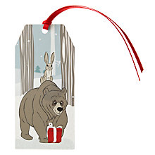 Buy John Lewis Bear & Hare Gift Tags, Pack of 4 Online at johnlewis.com