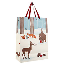 Buy John Lewis Bear & Hare Gift Bag, Large Online at johnlewis.com