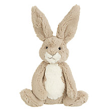 Buy John Lewis Bear & Hare Hare Plush Toy, Brown Online at johnlewis.com