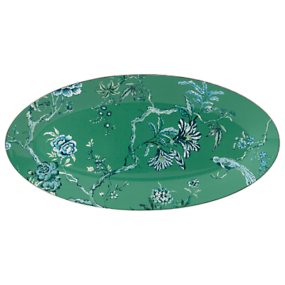 Image of Jasper Conran for Wedgwood Chinoiserie Green Oval Dish