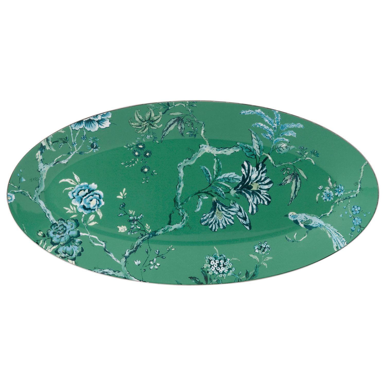 Jasper Conran Jasper Conran for Wedgwood Chinoiserie Green Oval Dish