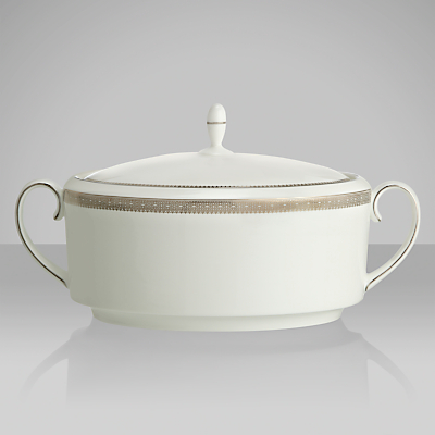 Vera Wang for Wedgwood Lace Platinum Soup Tureen