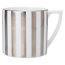 Buy Jasper Conran for Wedgwood Platinum Stripes Mini Mug Online at johnlewis.com