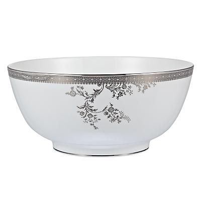 Vera Wang for Wedgwood Lace Platinum Salad Bowl
