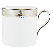 Buy Vera Wang for Wedgwood Lace Platinum Coffee Cup Online at johnlewis.com