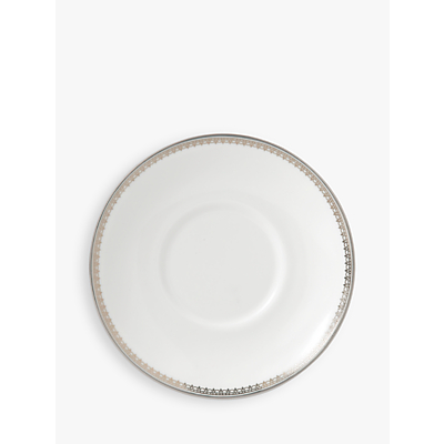 Vera Wang for Wedgwood Lace Platinum Coffee Saucer