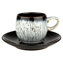 Buy Denby Halo Espresso Saucer Online at johnlewis.com