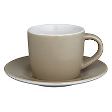 Buy House by John Lewis Espresso Cup and Saucer Online at johnlewis.com