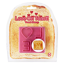 Buy Love Toast Stamp Online at johnlewis.com