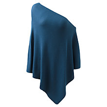 Buy East Merino Wool Poncho, Marine Online at johnlewis.com