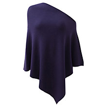 Buy East Merino Wool Poncho, Violet Online at johnlewis.com