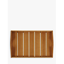 Buy John Lewis Slatted Bed Tray Online at johnlewis.com