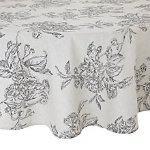 Buy John Lewis Round Ambleside Tablecloth Online at johnlewis.com