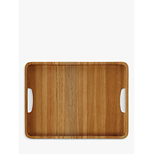 Buy John Lewis Rectangle Wood Tray Online at johnlewis.com