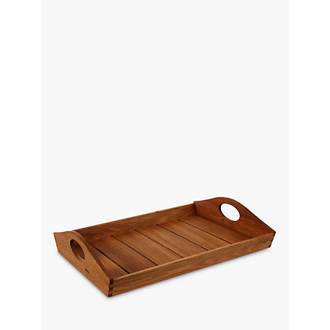 Buy John Lewis Slatted Tray Online at johnlewis.com