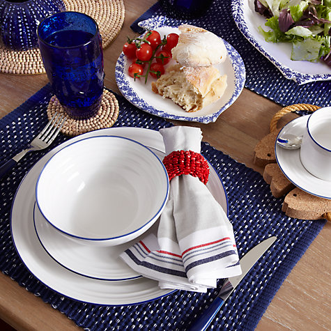 Buy John Lewis New England Ribbed Placemats, Set of 2 Online at johnlewis.com