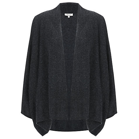 Buy Somerset by Alice Temperley Cashmere Shrug, Charcoal Online at johnlewis.com