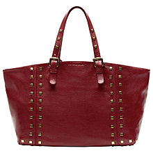 Buy Gérard Darel Simple Bag, Burgundy Online at johnlewis.com