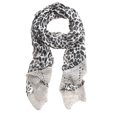 Buy Mint Velvet Claudie Print Scarf, Multi Online at johnlewis.com