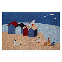 Buy John Lewis Beach Huts Doormat Online at johnlewis.com