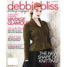 Buy Debbie Bliss Knitting Magazine Issue 11 Autumn/Winter 2013/14 Online at johnlewis.com
