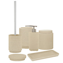 Buy John Lewis Spa Mint Sandstone Bathroom Accessories Online at johnlewis.com