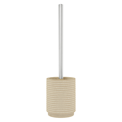 John Lewis Spa Mint Sandstone Toilet Brush and Holder