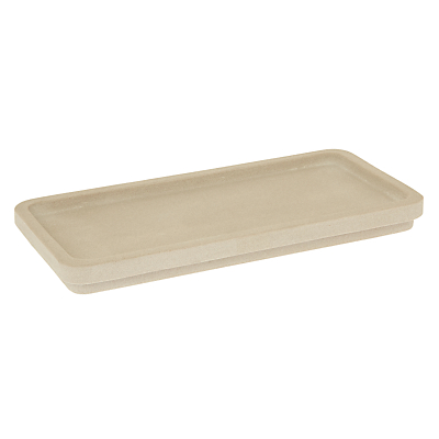 John Lewis Spa Mint Sandstone Bathroom Accessories Tray