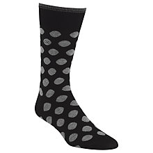 Buy Calvin Klein Big Dot Fine Egyptian Cotton Socks, One Size Online at johnlewis.com