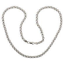 Buy Nina B Sterling Silver Belcher Chain Online at johnlewis.com