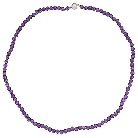 Buy Cobra & Bellamy Amethyst Necklace Online at johnlewis.com