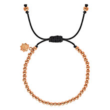 Buy Dower & Hall 18ct Gold Vermeil Misanga Bracelet, Gold Online at johnlewis.com