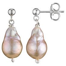 Buy Cobra & Bellamy Sterling Silver Pearl Drop Earrings Online at johnlewis.com